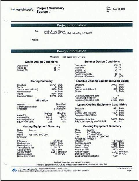 Manual j calculation examples solutioingenieria Gallery