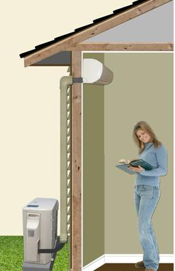 Ductless splits can be purchased as a single room unit or as a