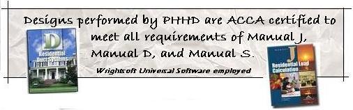 OUR SERVICES | Hvac Design | Manual J Calculations | Manual D Calcs
